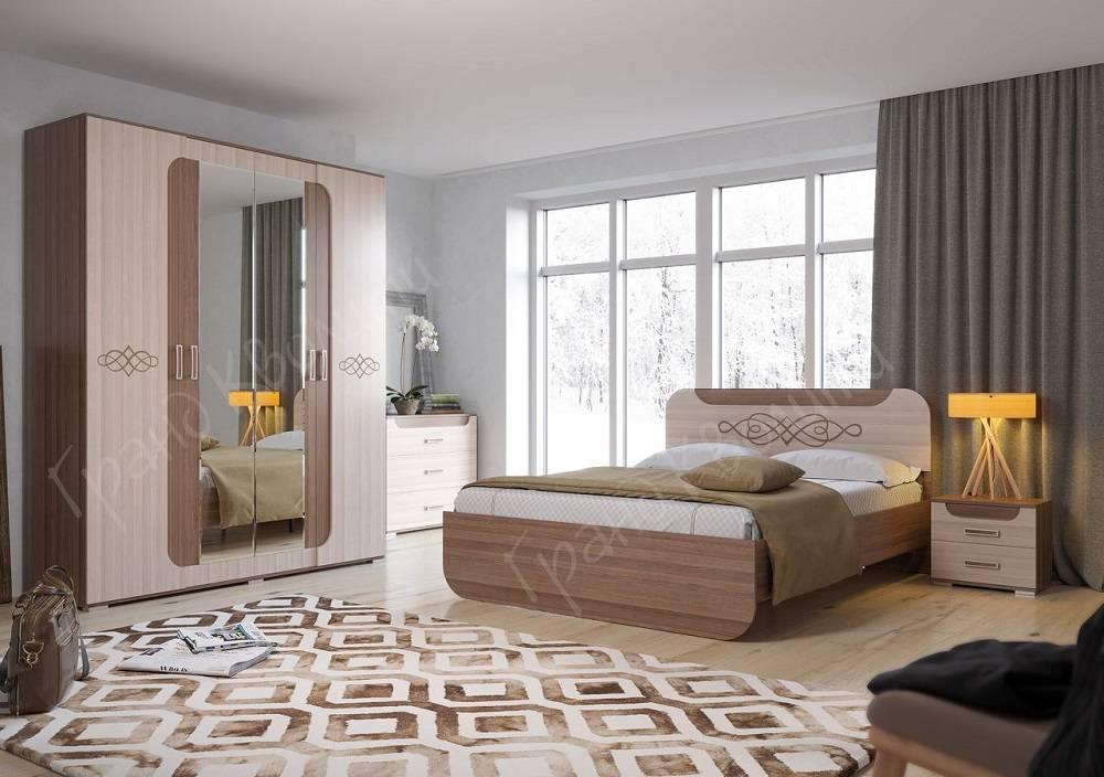 Спальный гарнитур Пальмира купить в Екатеринбурге по низкой цене