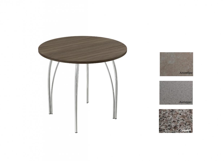 Стол обеденный круглый D870 Пластик купить в Екатеринбурге